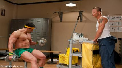 Bound In Public Download - The Creepy Janitor And The Bodybuilder