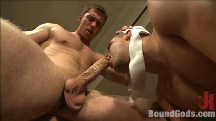 Boundgodsvideos - Gym Pervert Beaten Down And Fucked Into Submission