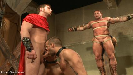 Fetish Gay Sex Tumblr - Connorligula - Roman Gladiator Live Show - Part Two
