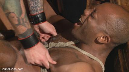 Gay Bdsm Techniques - Marine With A 10