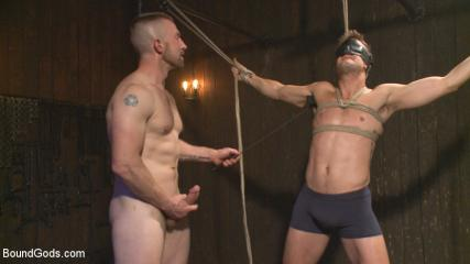 Gay Bdsmtube - Tormented Without Mercy - Connor Patricks Suffers Tight Metal Bondage