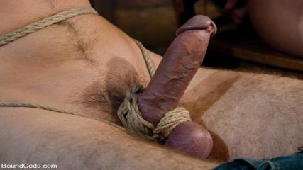 Gay Kinky Movies - Tristan Jaxx Gets Tied Up And Flogged.