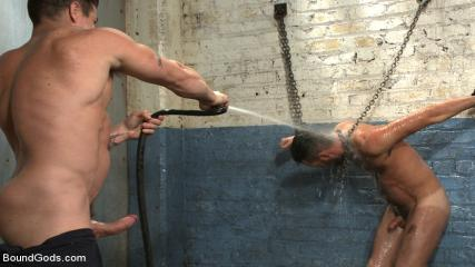 Gay Man Sex Vedio - A Helpless Vagrant Gets Hosed Down And Fucked By The Creepy Handyman