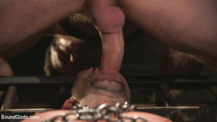 Gay Muscles Gallery - New Sub, Tyler Phoenix: Caged And Tormented