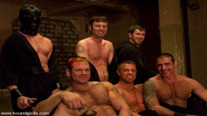 Gay Rough Bears - Tober Gang Bang: Part Two