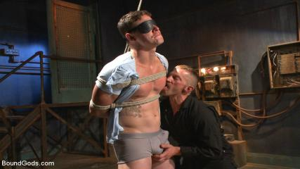Gay Rough Fucking Videos - New Captive Bound, Beaten And Electrified