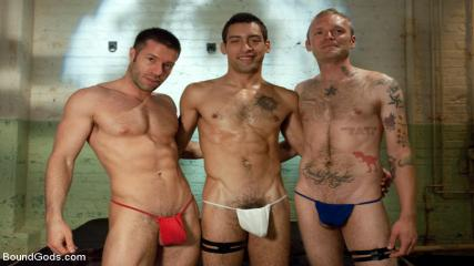 Gay Rough Ride - Red, White And Blue - July Live Shoot