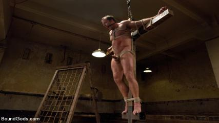 Gaybondage Tube - Pain Limit - Live Shoot