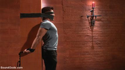 Gayroughtube - Dominic Pacifico In Bondage Hell