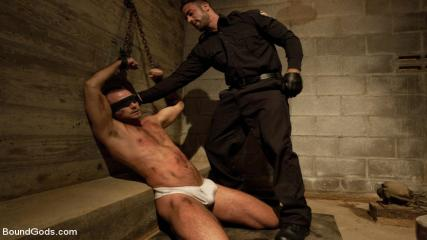 Kinky Gay Ideas - The Most Violent Orgasm In Bound Gods History