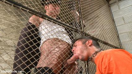 Richard Cadell Gay - New Muscled Inmate At The Mercy Of Officer Connor Maguire