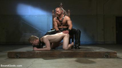 Rough Gay Sec - Mr Herst Torments And Fucks Slave #860 Locked In Chastity