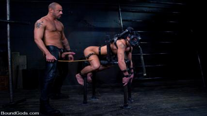 Tumblr Gay Bondage Video - Ride The Horse Cock