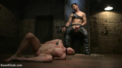 Videos Porno Gay Gaytube - Mr. Maddox's Brutal Night Of Torment For His New Slave